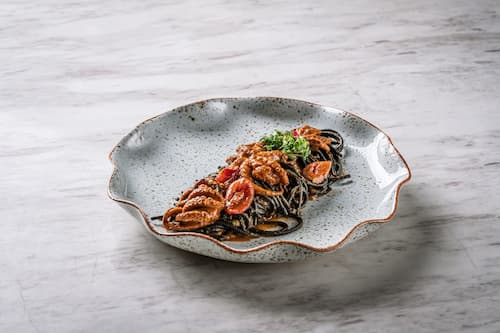 Spaghetti Neri - Otto Italian Restaurant