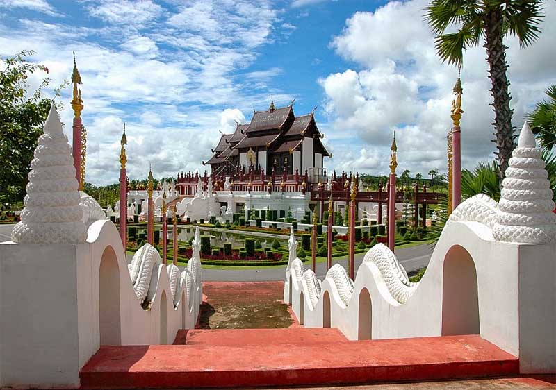 Royal winter palace in Chiang Mai