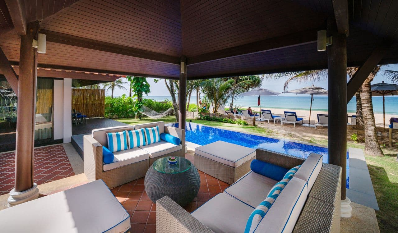 Two Bedroom Beach Villas Gazebo and Outdoor Area - akyra Beach Resort Phuket
