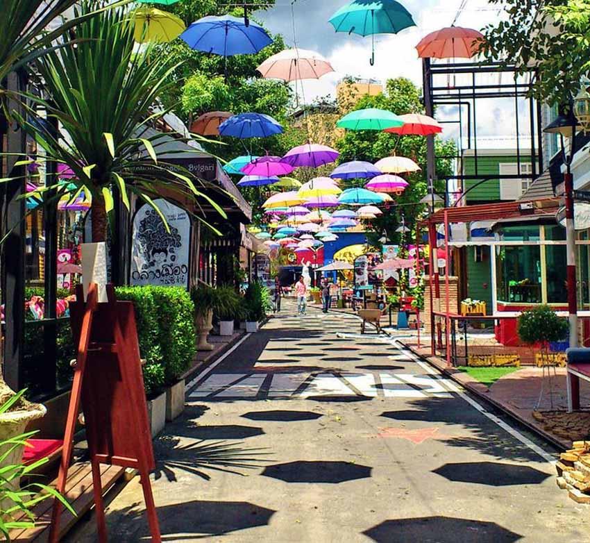 Откройте для себя район Нимман в Чиангмае