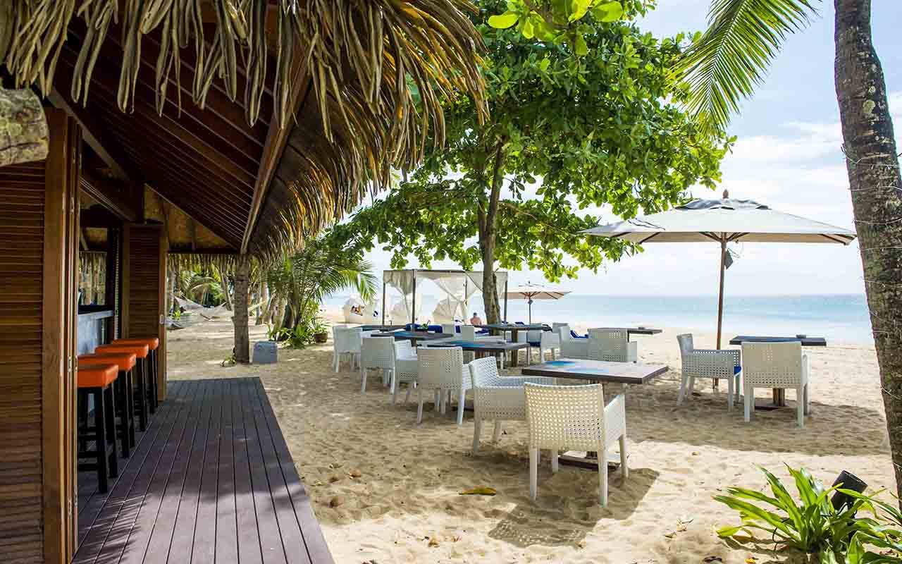 Beach Restaurants in Phang Nga