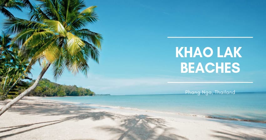 Amazing Beaches in Khao Lak