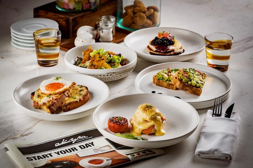 Gourmet Breakfast Restaurant - The Eight Restaurant