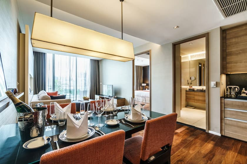 Deluxe One Bedroom Executive Serviced Suite - akyra Thonglor Bangkok Hotel