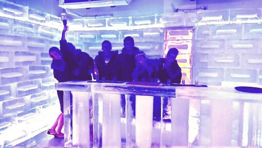 Ice Bar in Thonglor Bangkok
