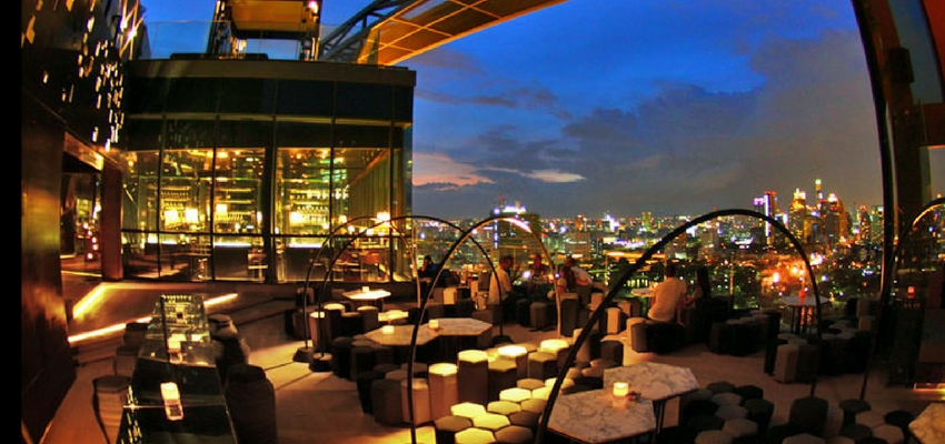 Park Society Roof Bar in Bangkok