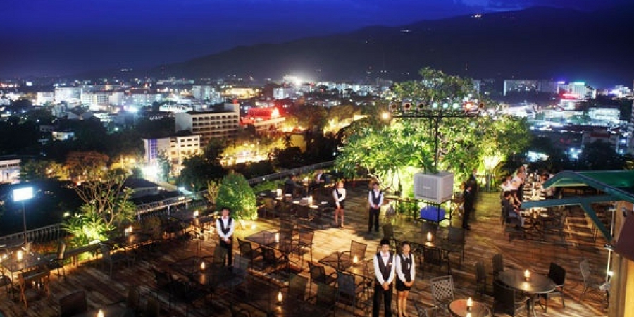 Xanadu Rooftop Bar in Chiang Mai