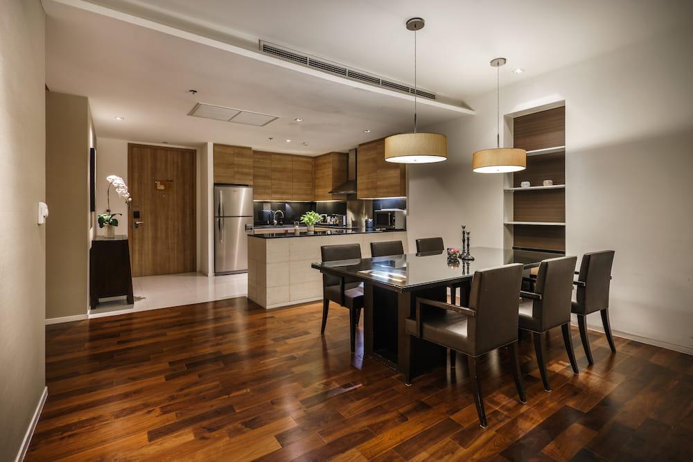 Three Bedroom Serviced Suites Interior - akyra Thonglor Bangkok Hotel