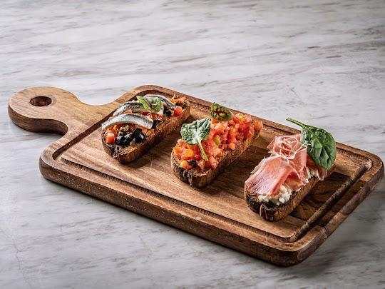 Trio Bruschetta - Otto Italian Restaurant