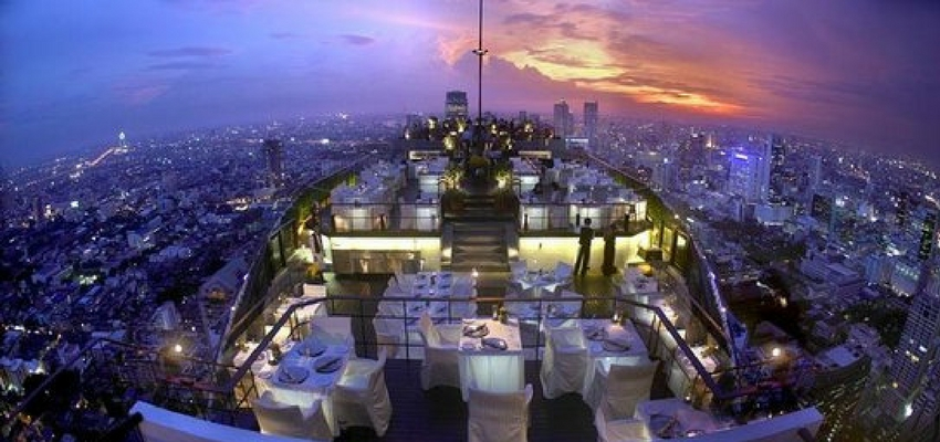 Vertigo and Moon Bar in Bangkok