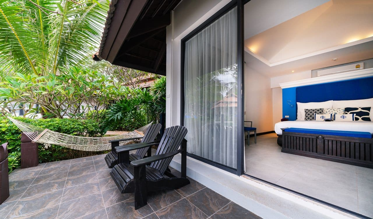 Seaview Villa Terrace and Hammock - akyra Beach Resort Phuket