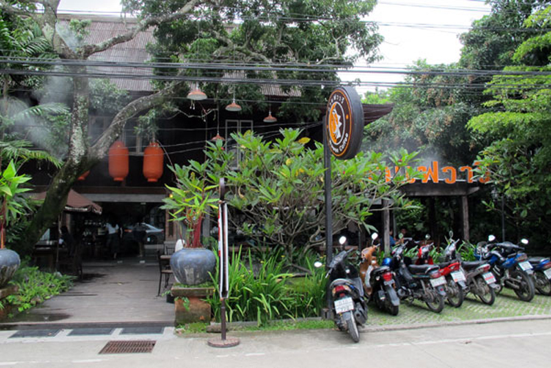 wawee coffee shop on nimmanhaemin road