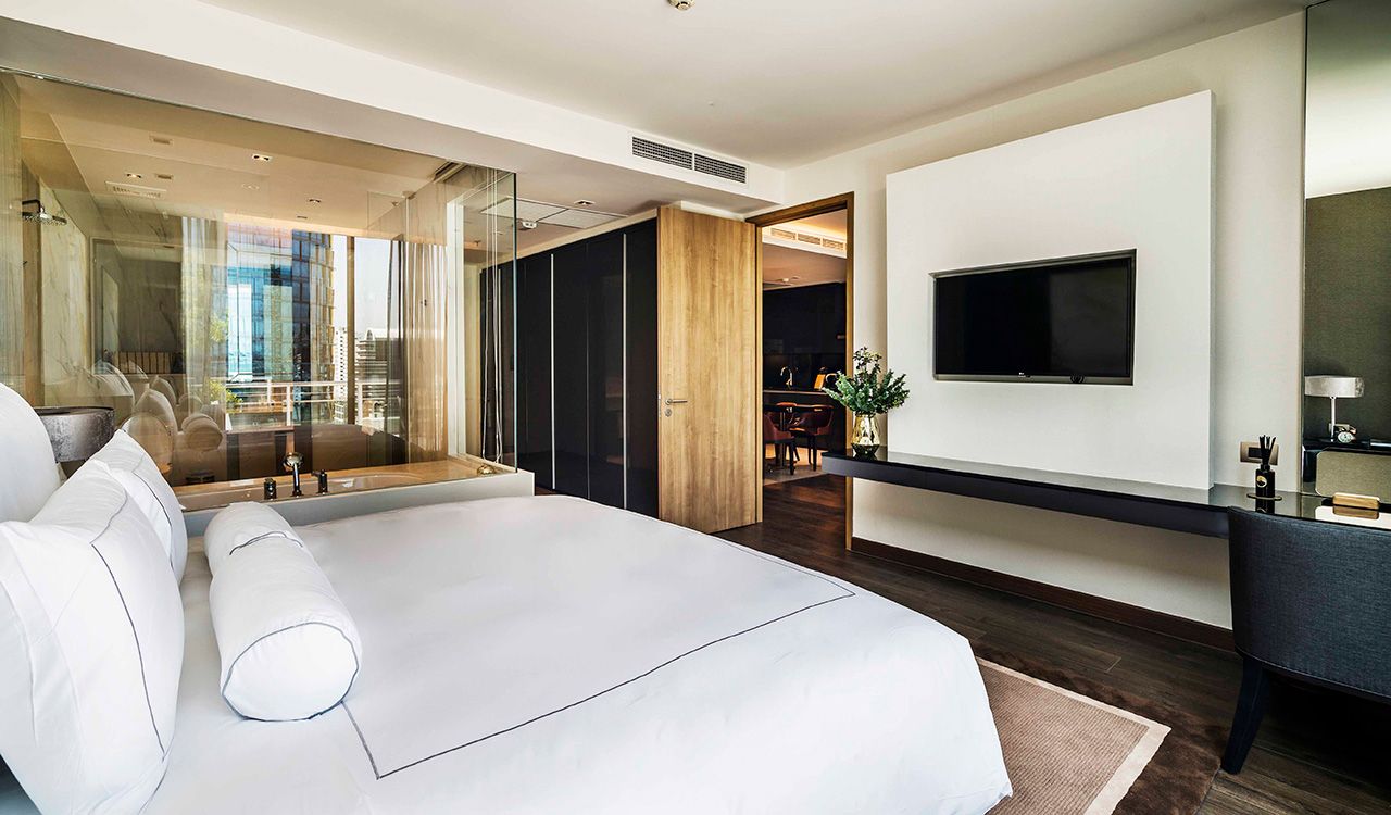 deluxe two bedroom suite - akyra Thonglor Bangkok