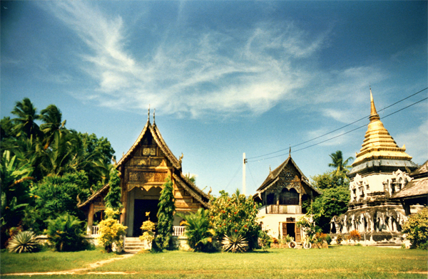 Chiang Mai Walking Tour - Temple of the Fortified City