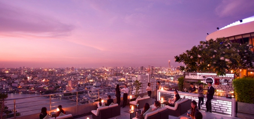 Three Sixty Roof Bar in Bangkok