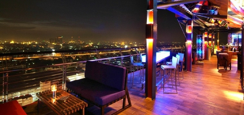 The Roof Gastro roof bar at Siam@Siam Bangkok