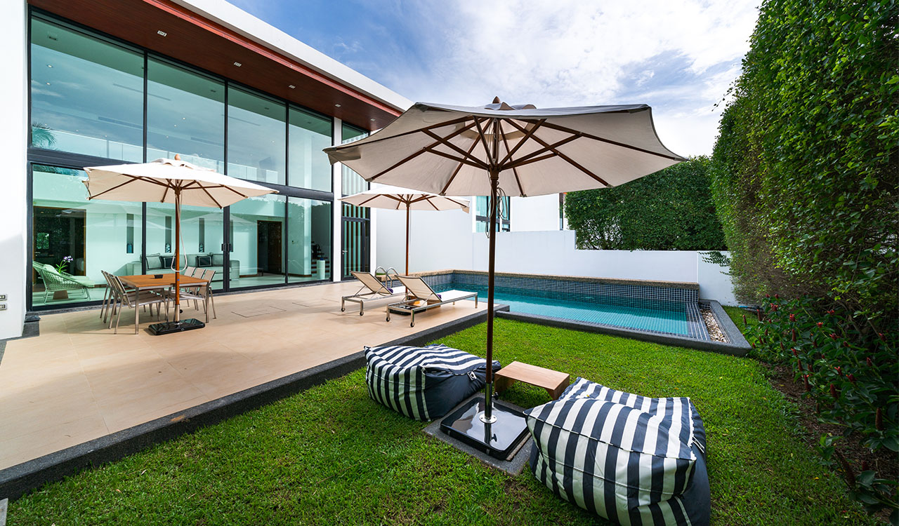 akyra Beach Club Phuket -  Luxury Two Bedroom Beach Villa