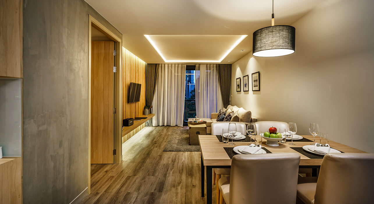 akyra Sukhumvit Bangkok - One Bedroom Suite Living Area