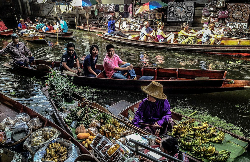 Explore Bangkok's Floating Markets