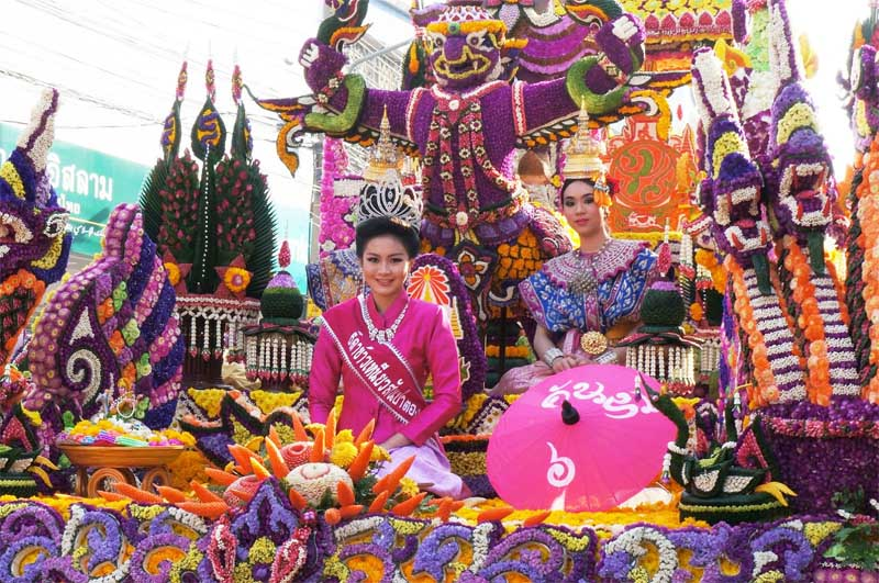 The Chiang Mai Flower Festival
