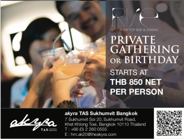 Event promotion at akyra Sukhumvit  Bangkok
