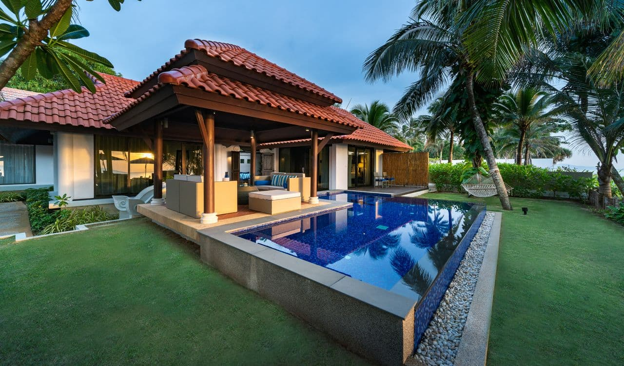 Two Bedroom Beach Villa Swimming Pool - akyra Beach Resort Phuket