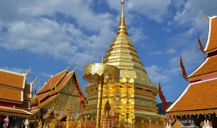 Wat Phra That Doi Suthep - akyra Manor Chiang Mai Hotel