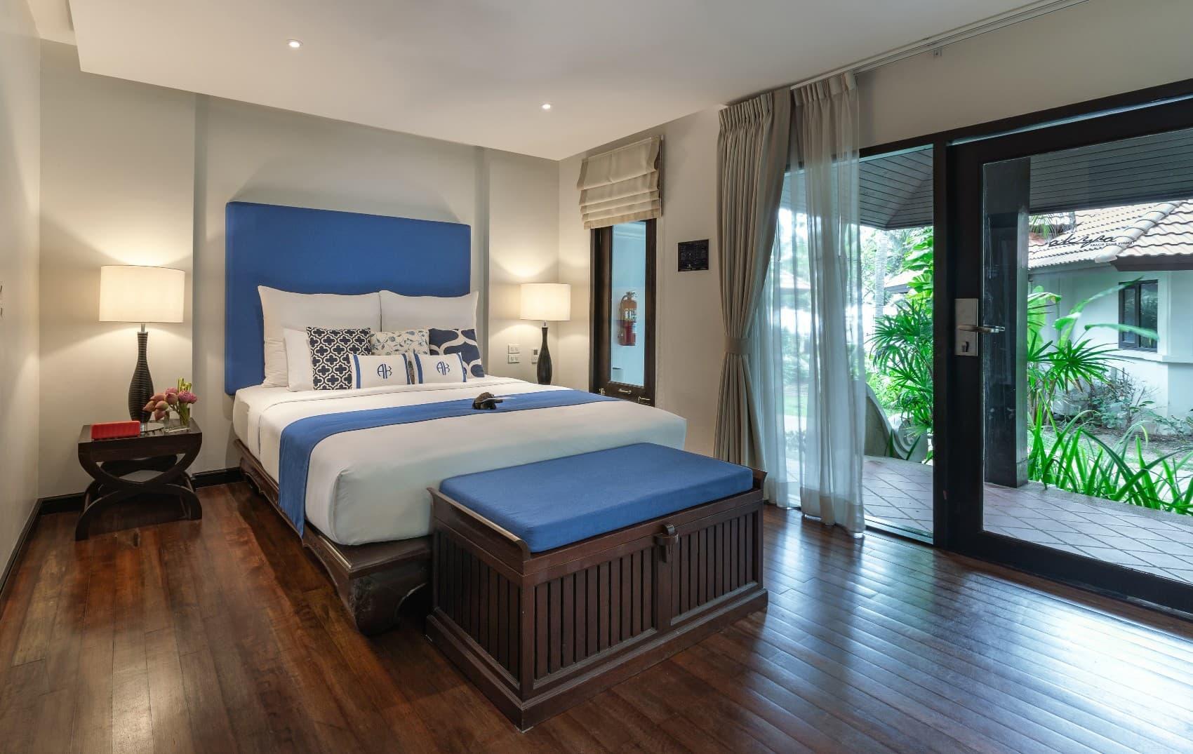 Garden Villa Bedroom Interior - akyra Beach Resort Phuket