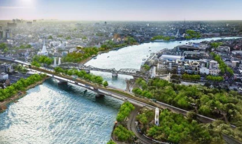 Chao Phraya Sky Park Bridge - akyra Hotels Bangkok