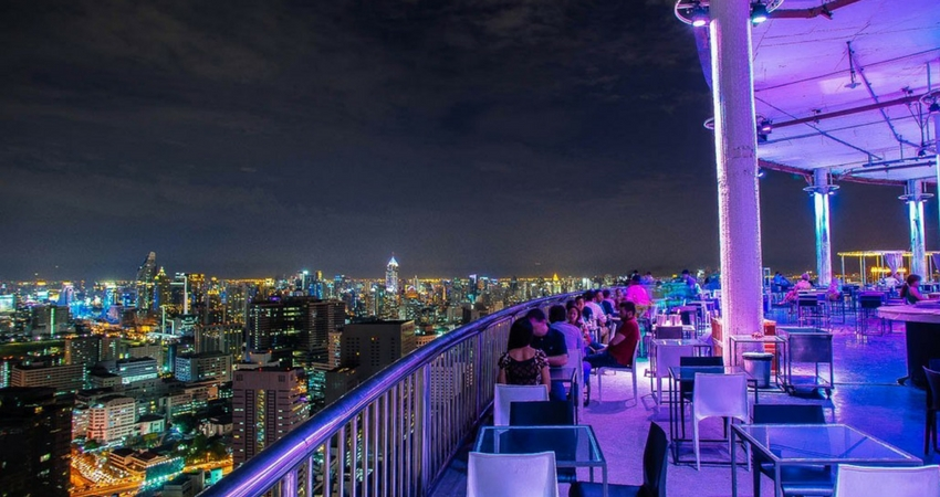 Cloud 47 Roof Bar in Bangkok