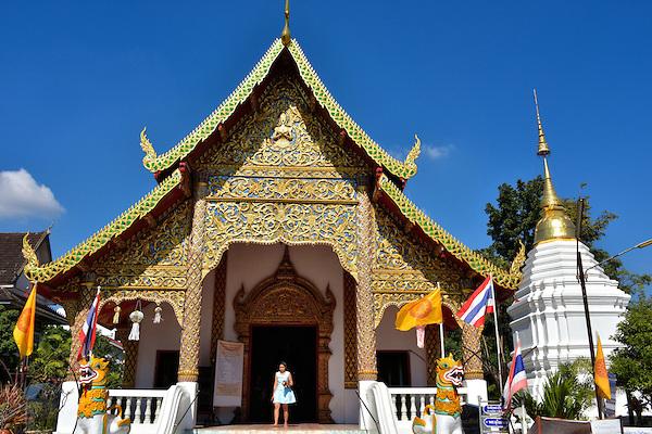 Chiang Mai Walking Tour - Wat Chai Phra Kiat