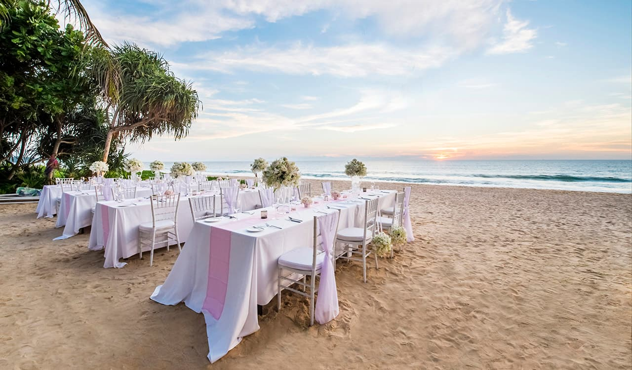 A Private Beach Wedding in Phang Nga