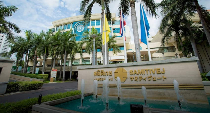Samitivej Hospital in Sukhumvit Bangkok - akyra Hotels Bangkok