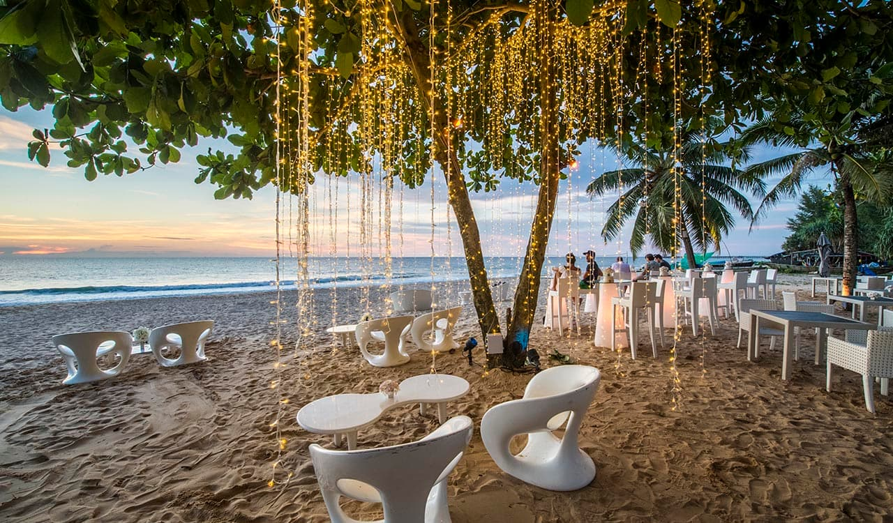 Beach Resort Weddings in Phang Nga