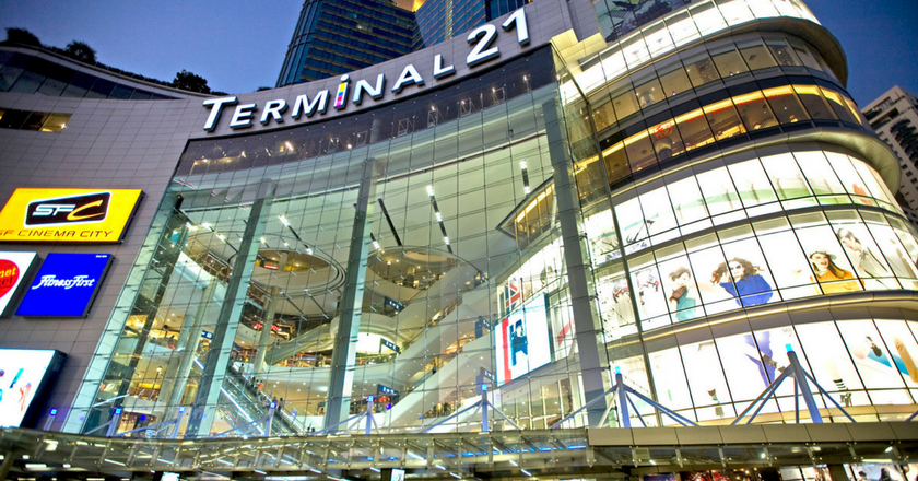 Terminal 21 Shopping Mall in Bangkok