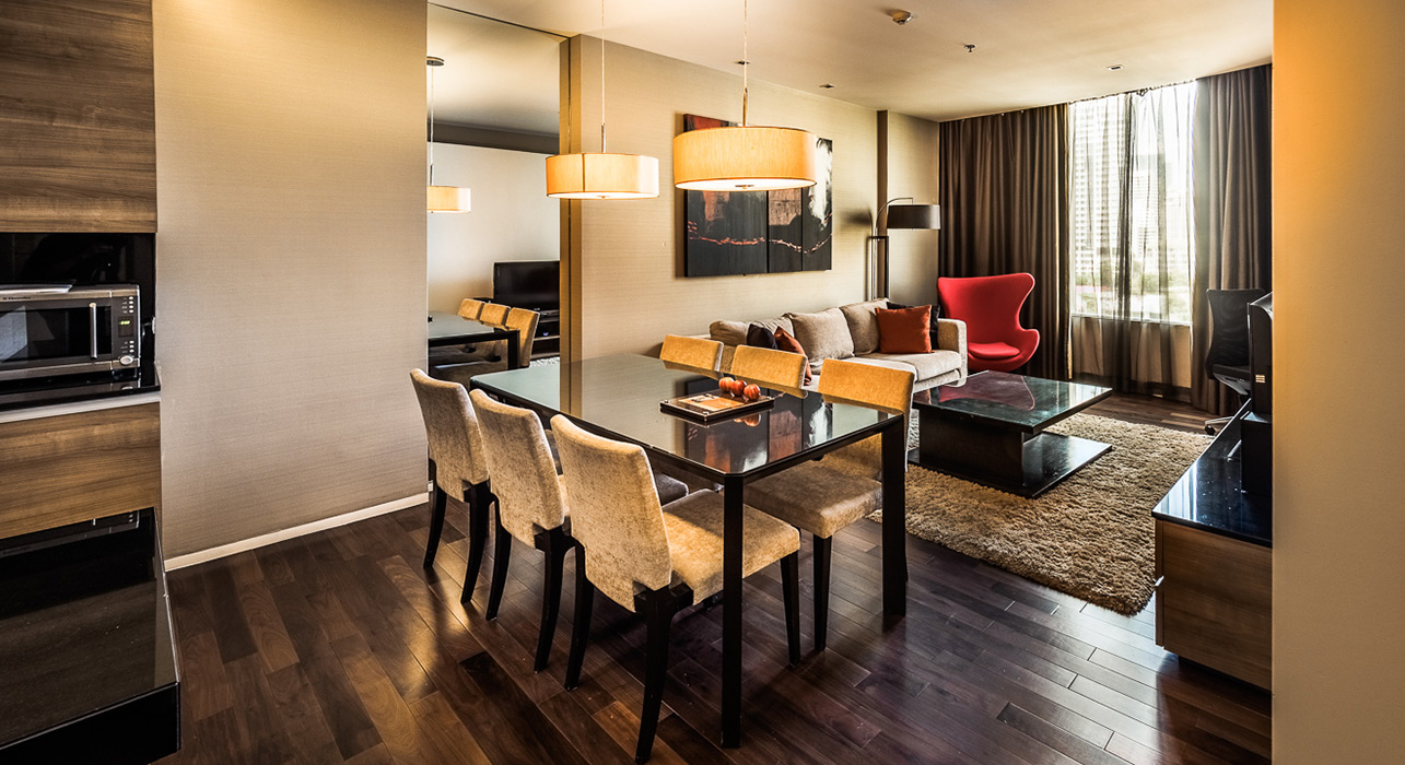 akyra Thonglor Bangkok - Three Bedroom Hotel Suite with Dining Area