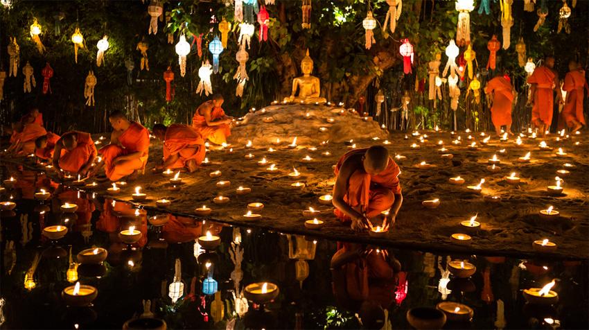 Loi Krathong Festival Chiang Mai
