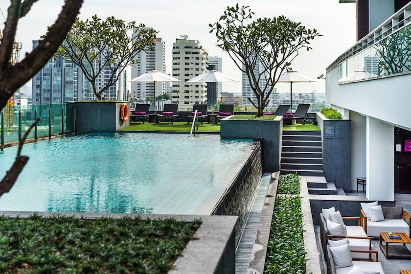 Best Serviced Apartments in Bangkok - akyra Thonglor Bangkok Hotel