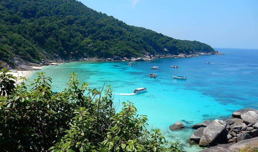 The Similan Islands of Phang Nga