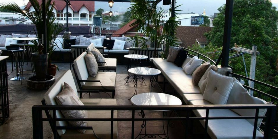 Oasis Rooftop Bar in Chiang Mai
