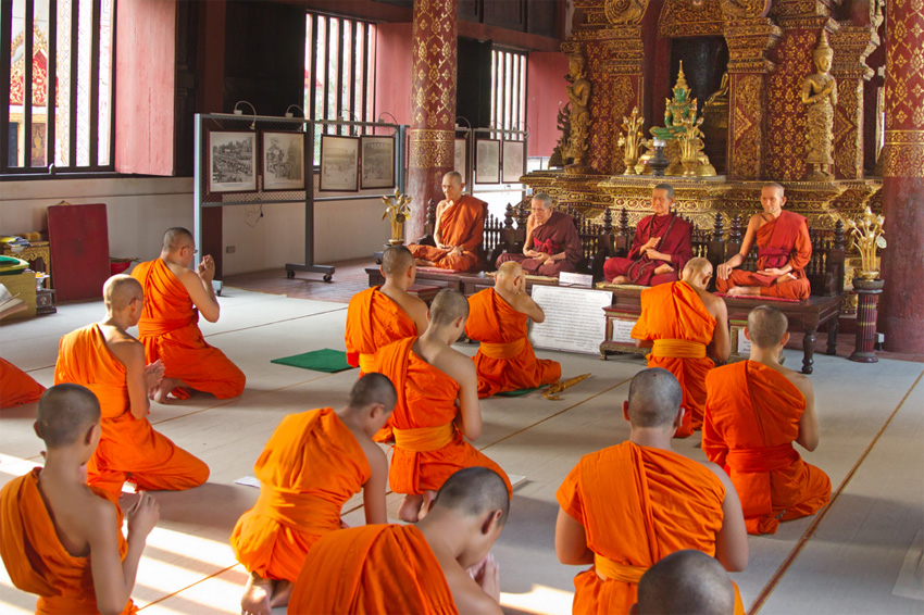 Chiang Mai Monks