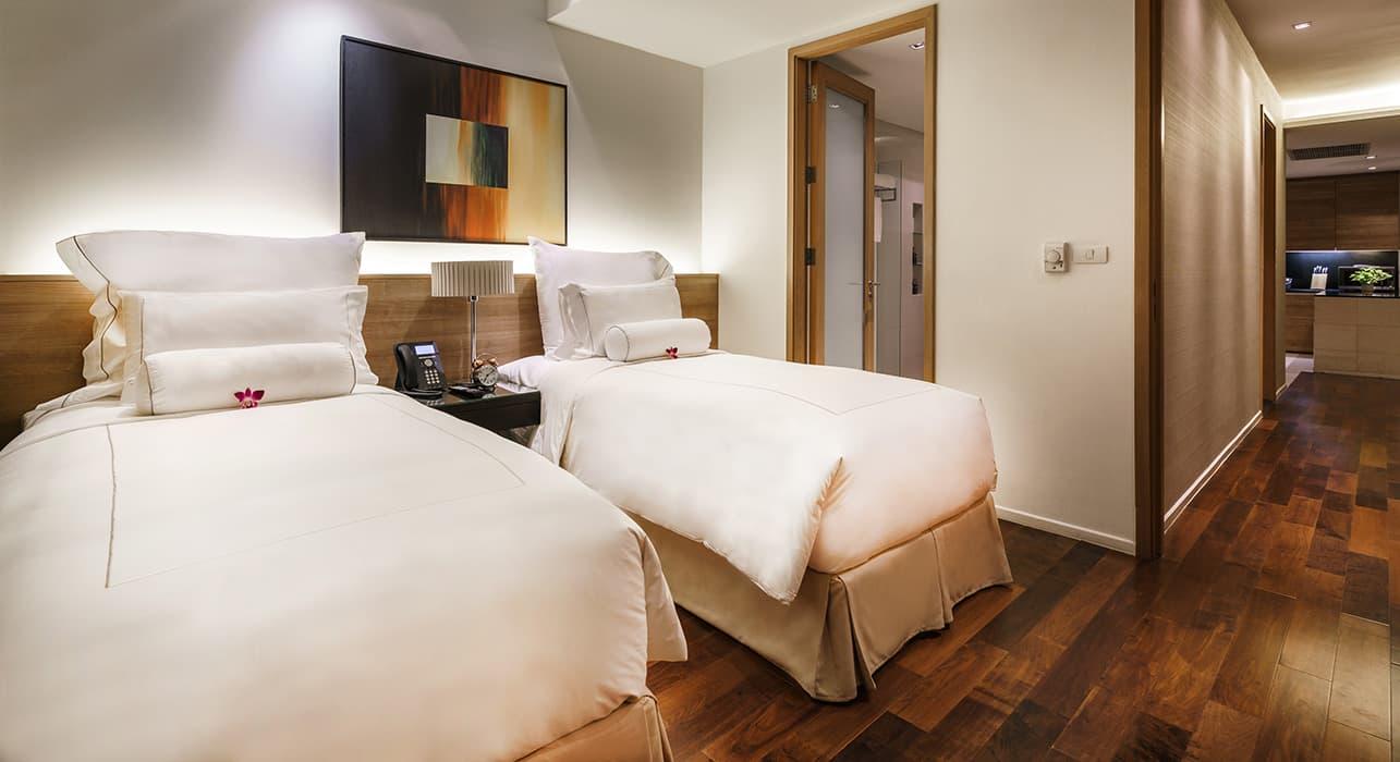Three Bedroom Serviced Apartment Suites - akyra Thonglor Bangkok Hotel