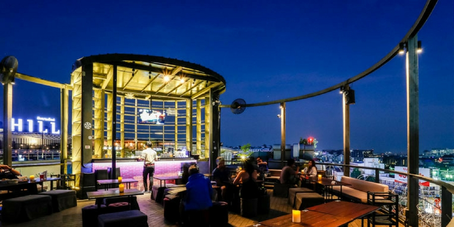 The Myst Rooftop Bar in Chiang Mai