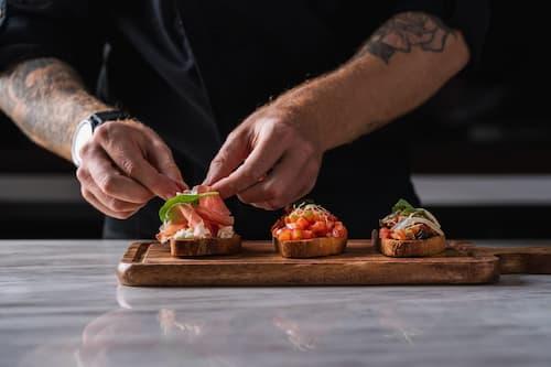 Bruschetta - Otto Italian Restaurant Chef