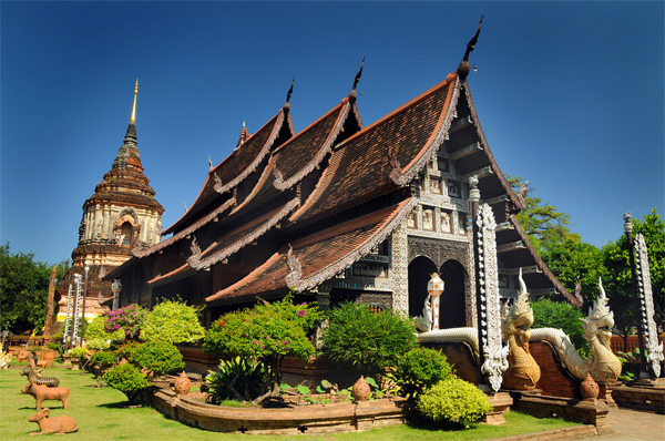 Chiang Mai Walking Tour - Wat Lok Molee