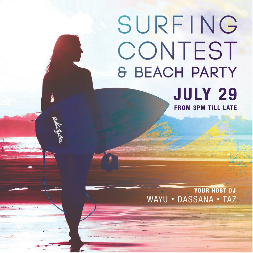 Surfing Contest & Beach Party Phuket