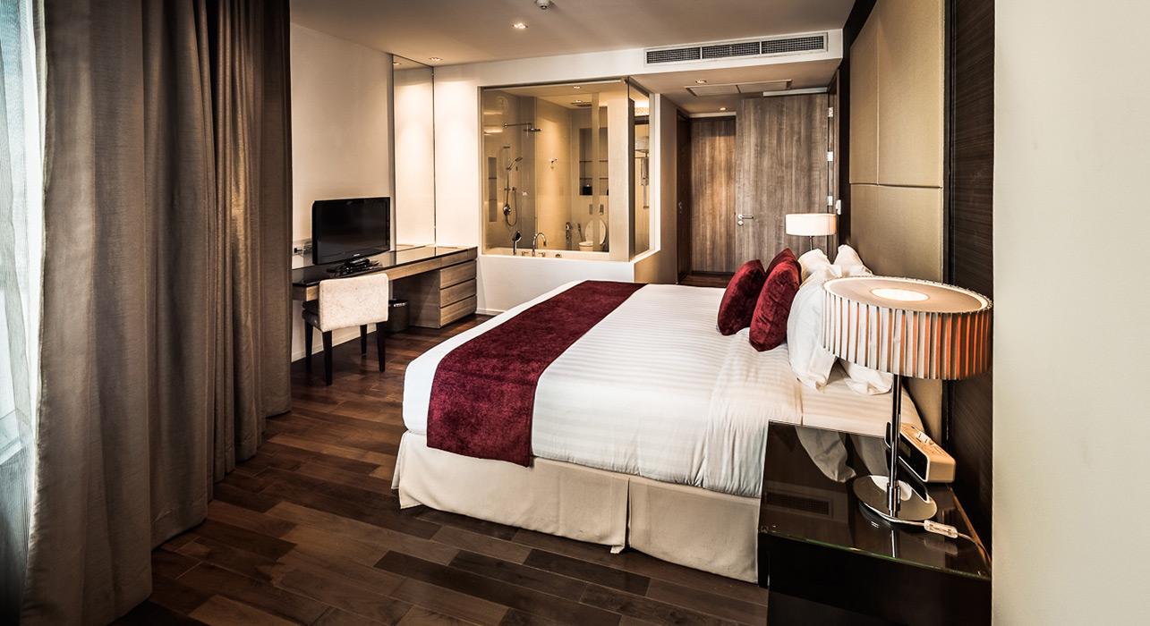 akyra Thonglor Bangkok - Three Bedroom Hotel Suite bedroom