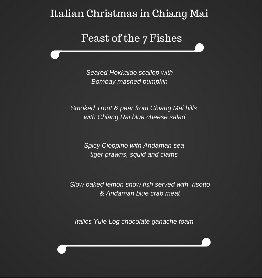 An Italian Christmas in Chiang Mai