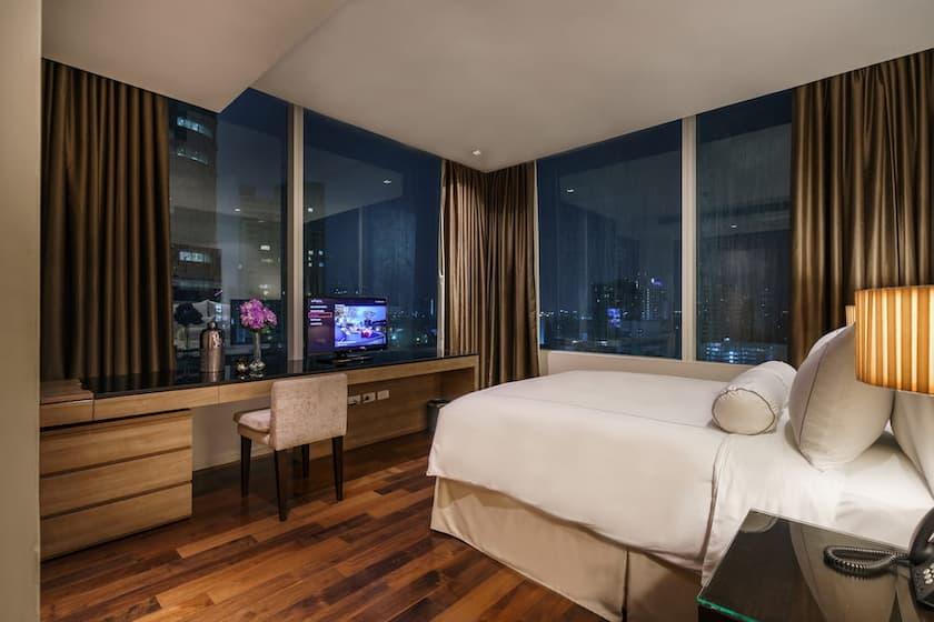 Three Bedroom Executive Serviced Suite - akyra Thonglor Bangkok Hotel