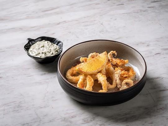 Crispy Calamari - Otto Italian Restaurant